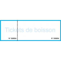 Ticket boisson 1 ticket