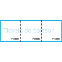 Ticket boisson 2 tickets