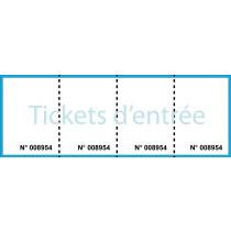 Ticket d'entrée 3 souches
