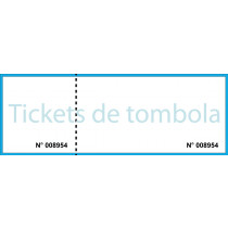 Ticket de tombola 1 souche